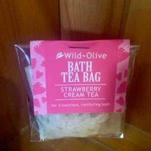 Wild Olive Strawberry and Cream Tea Bag
