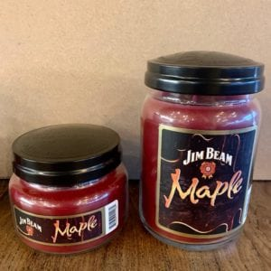 Candleberry Jim Beam Maple Candle Lg