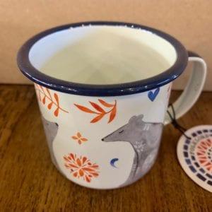 Wild & Wolf Bear Enamel Mug