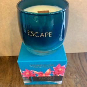 Stoneglow ESCAPE White Tea & Mint Candle Tumbler