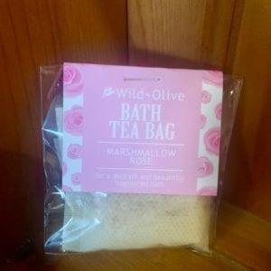 Wild Olive Marshmallow Rose Tea Bag