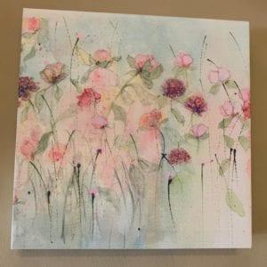 Sue Fenlon Canvas Print, 'Peonies & Roses'
