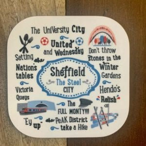 Love Your Nation Sheffield Coaster