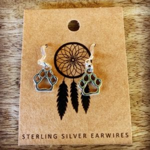 Funky Sprout PAW Earrings