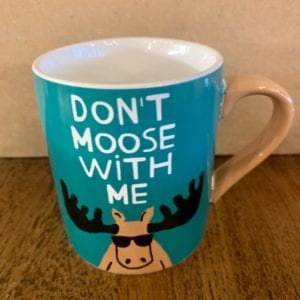 Hatley 'Don't Moose With Me' Mug