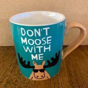 Hatley 'Don't Moose With Me' Mug