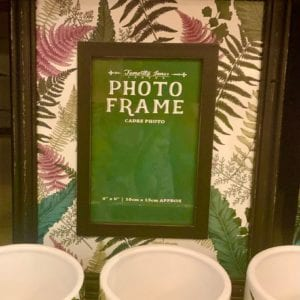 SIL FERN 6″x 4″ Photo Frame (Forest Green Insert)