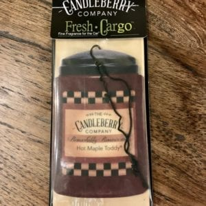 Candleberry Hot Maple Toddy Car Freshener