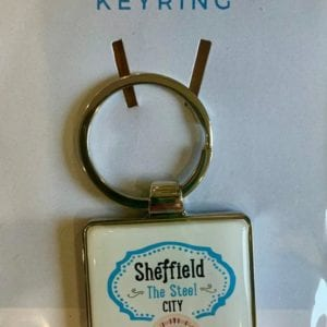 Love Your Nation Sheffield Keyring