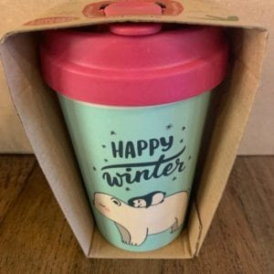 Blue Eyed Sun 'Polar Friends' Eco Bamboo Cup