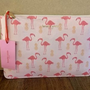 Fenella Smith Pink Flamingo Pouch