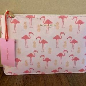 Fenella Smith Pink Flamingo Pouch