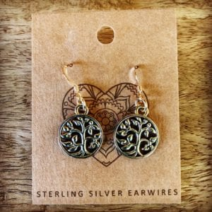 Funky Sprout TREE OF LIFE Earrings