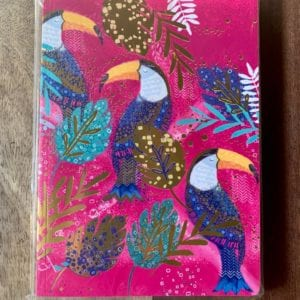 Go Stationery Opium A5 Notebook Toucan