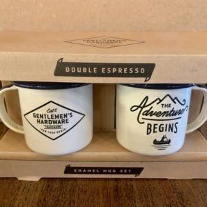 Wild & Wolf Enamel Espresso Mug Set