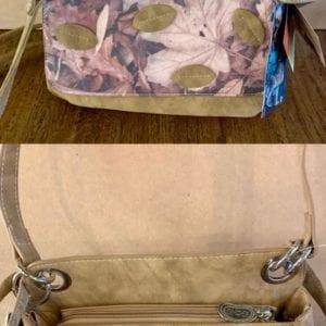 Hi-Di-Hi UN01 Camel Coral Design Handbag, 20x26x11cm
