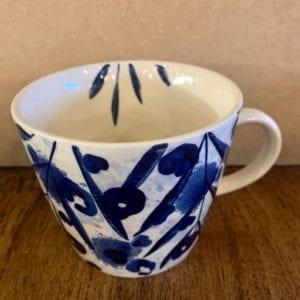 Gisela Graham Leaf Sponge Mug