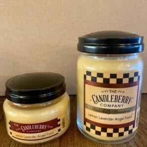 Candleberry Lemon Lavender Angel Food Candle Lg