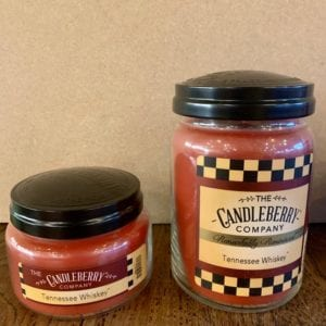Candleberry Tennessee Whiskey Candle Sm