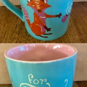 Hatley 'For Fox Sake' Mug