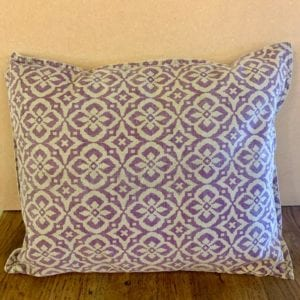 Stone The Crows Violet Cushion