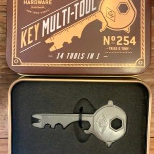 Wild & Wolf Key Multi Tool in Tin