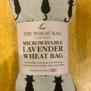Wheat Bag Co. Lavender Wheat Bag Cat