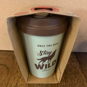 Blue Eyed Sun 'Stay Wild' Eco Bamboo Cup