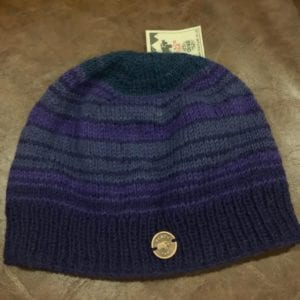 Black Yak Beanie 'Naya' (Purple)