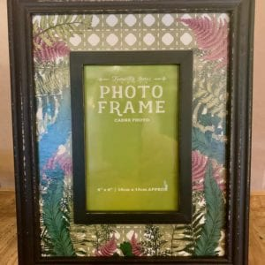 SIL FERN 6″x 4″ Photo Frame (Lime Green Insert)
