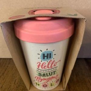 Blue Eyed Sun 'Hello Hello' Eco Bamboo Cup
