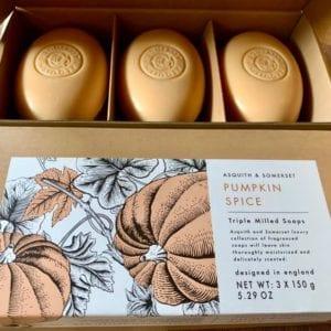 Somerset Soaps 'Pumpkin Spice' 3 Soap Gift Set