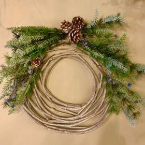 Heaven Sends Rustic Wreath