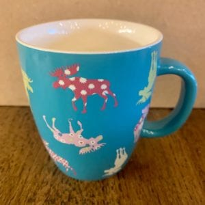 Hatley 'Patterned Moose' Mug