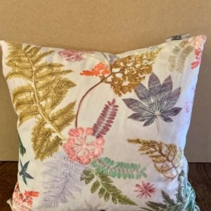 Gillian Arnold Silver Cushion