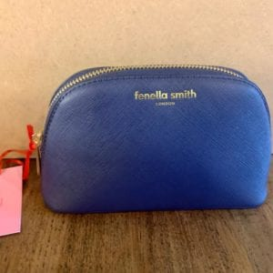 Fenella Smith Navy Cosmetics Case