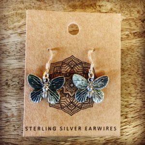 Funky Sprout BUTTERFLY Earrings