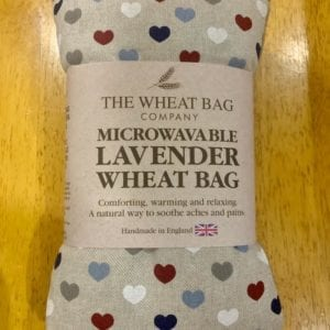 Wheat Bag Co. Lavender Wheat Bag Hearts