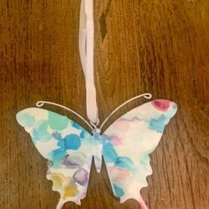 Transomnia Butterfly Hanging Decoration, Blue