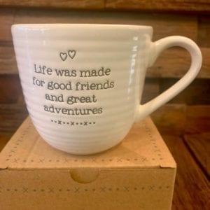 Transomnia Evie 'Life Was Made For…' Mug