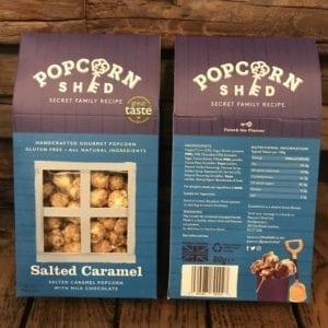 Popcorn Shed Salted Caramel Popcorn Box