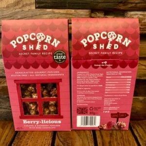 Popcorn Shed Berry-licious Popcorn Box