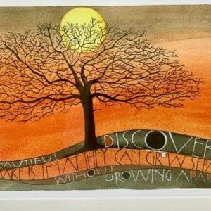 Sam Cannon Art – BEAUTIFUL DISCOVERY Card