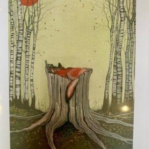 Sam Cannon Art – ALL WHO WANDER Card