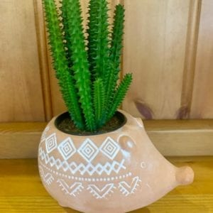 Sass & Belle Terracotta Hedgehog Planter