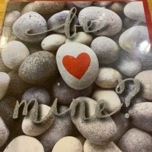 Blue Eyed Sun Valentines Day Card – Be Mine?