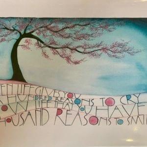 Sam Cannon Art – CHERRY TREE Card