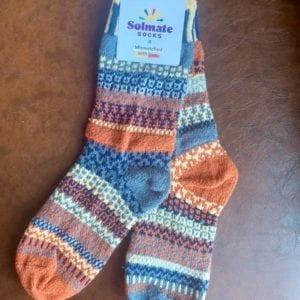 Solmate Socks Nutmeg UK Size 4-6 (S)