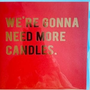 Redback Cards – CANDLES