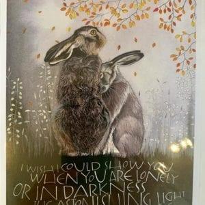 Sam Cannon Art – ASTONISHING LIGHT Card